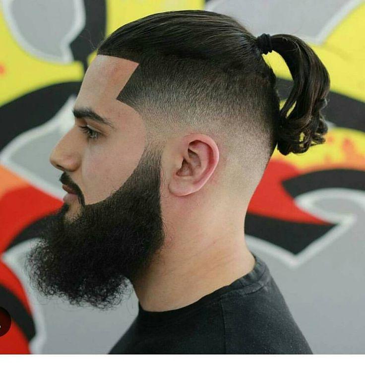 2017 man bun, bun hairtsyles , hair styles with beard, beard with hairstyles, bu…