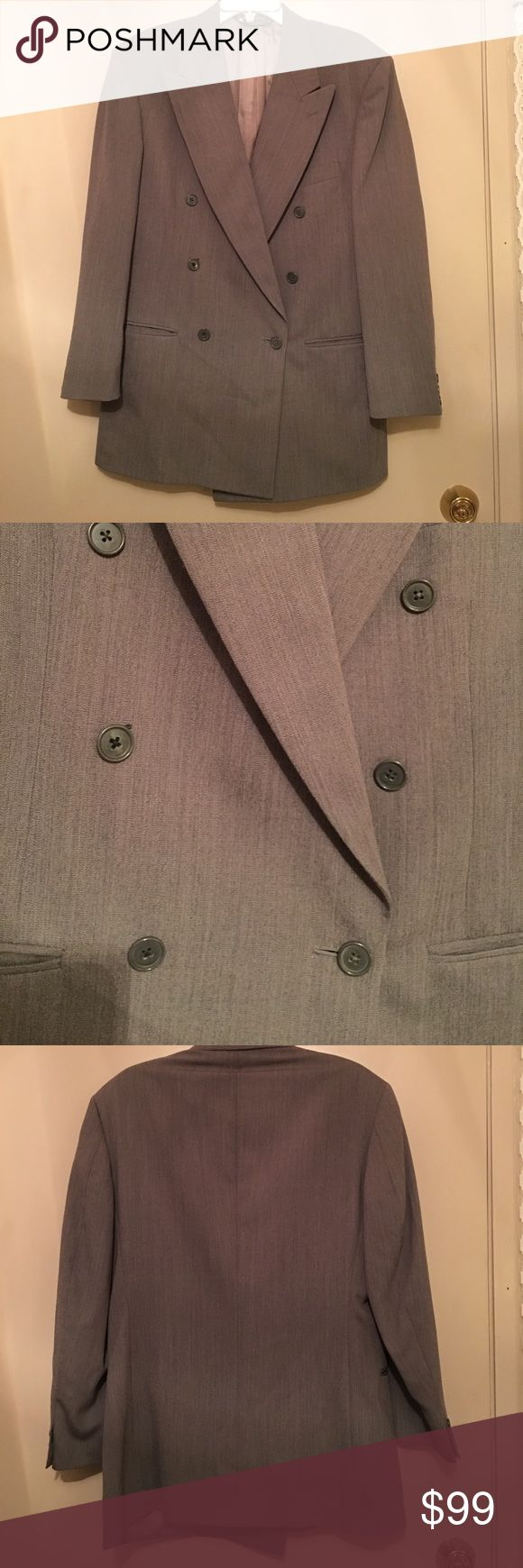 Pierre Cardin Men's Blazer A super nice men's blazer by Pierre Cardin. Size: 39R X 31 W. Material: 100% Worsted Wool. Care: Dry Clean. This Blazer Is In Really Good Condition. Pierre Cardin Suits & Blazers Sport Coats & Blazers