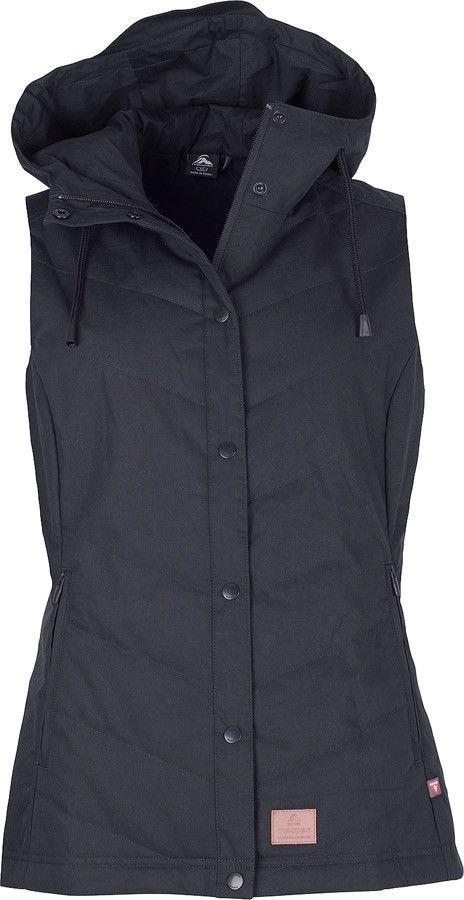 This smart synthetic vest combines comfort, warmth and weather-resistance with a uniquely urban appearance. Constructed with a natural-feeling 100% cotton face fabric with a wax coating and DWR treatment, the Divide Vest is durable, easy-to-care for and looks great too. Filled with PrimaLoft® Black insulation, this vest will keep you warm during the cooler months, without weighing you down - layer it over long sleeve base and mid layers for extra warmth and versatility.