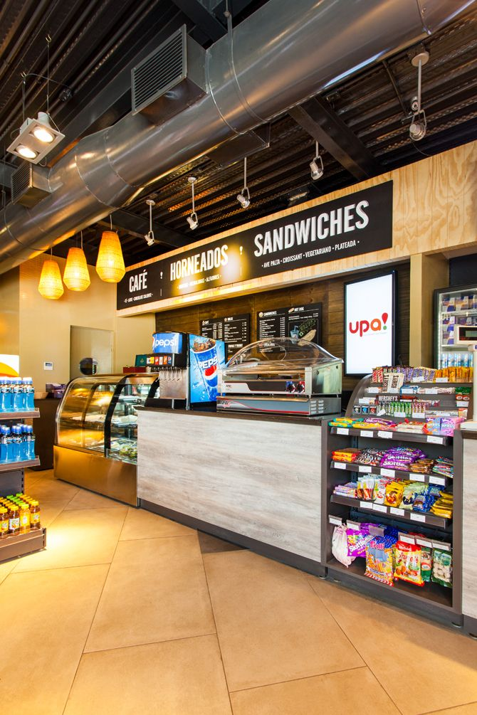 Modern Convenience Food Stores