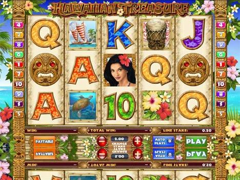 Discover Hawaiian Treasure @Virgin Casino http://www.virgingames.com/casino
