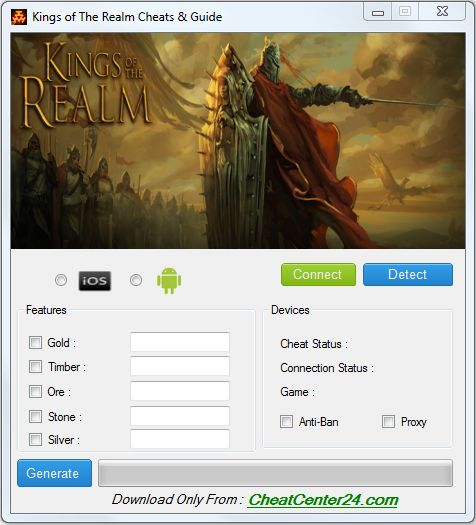 Kings of the Realm Cheats and Guide
