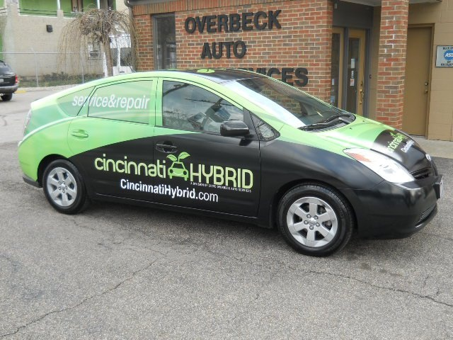 Vehicle Wrap for a Hybrid Specialist #PromotionalGifts #Marketing #Promotion
