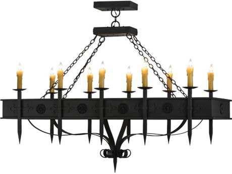 2nd Avenue Lighting Calandra Ten-Light 66'' Wide Grand Chandelier