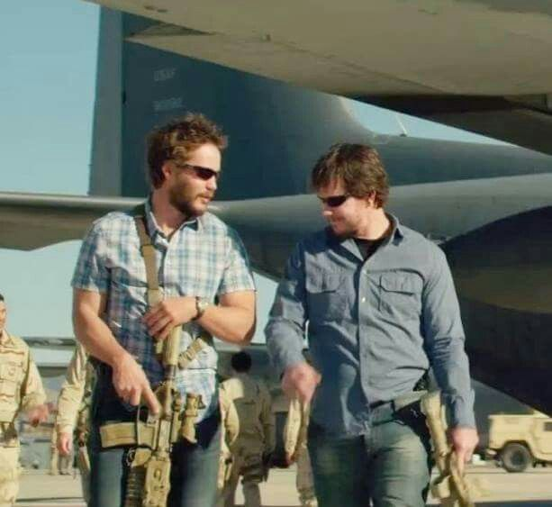 "Movie ""Lone survivor"" 2013 - Director: Peter Berg. Taylor Kitsch as Michael Murphy. W/Mark Wahlberg."