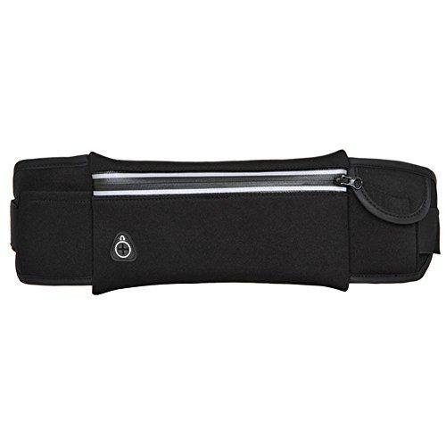 SZTARA Portable Multifunctional Waist Bag Unisex Sports Cross-package Pockets Running Jogging Hiking Cycling Waistpacks Cellphone Money Keys Cards Holder