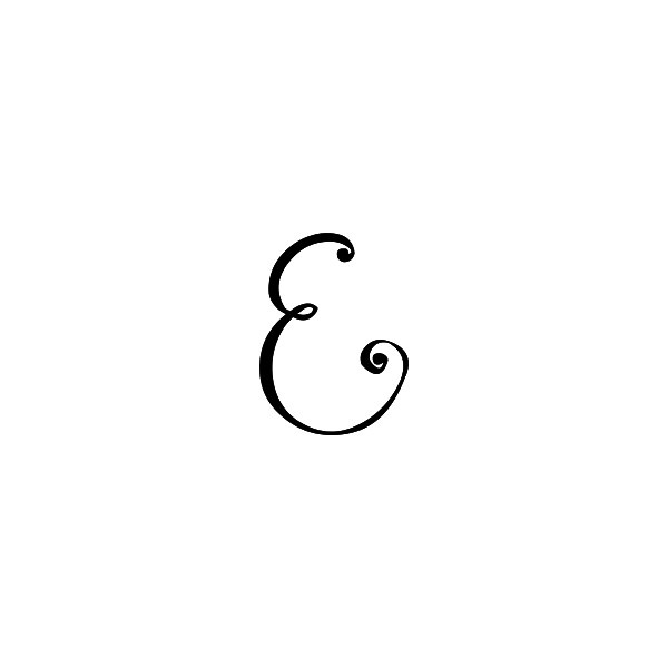 The letter e | Letterplayground.com ❤ liked on Polyvore
