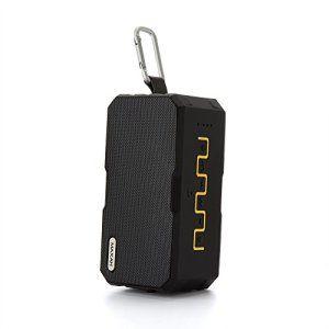 MAXAH® Mini Enceinte portable & Batterie Externe Chargeur / Bluetooth speaker with Power Bank, Haut-Parleur Bluetooth Stéré avec 2…