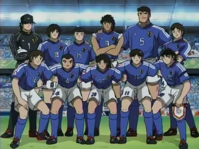 Tremendo once! - Campeones: Oliver y Benji / Supercampeones / Captain Tsubasa