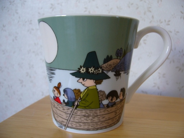 Muumimuki The story of moominvalley-sarja (vihreä) Yamaka 23,50€