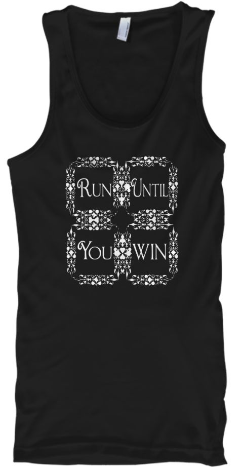 Best Running Shirts   Limited Edition  Black T-Shirt Front