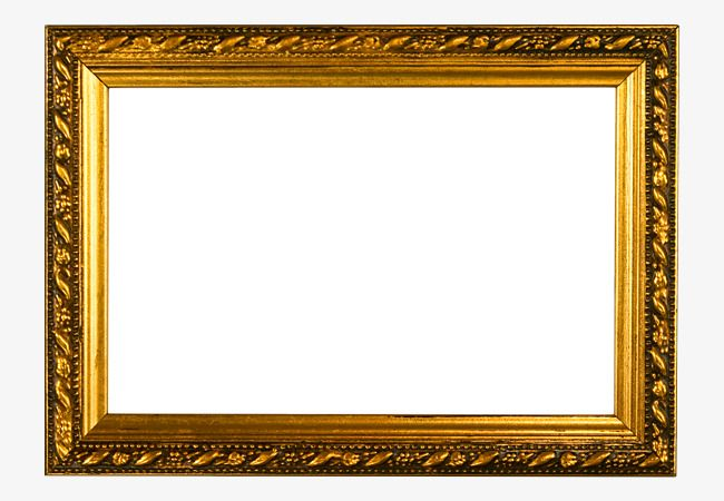 Wood Frame Wall Mount Golden Wall Frame Png Transparent Clipart Image And Psd File For Free Download Picture Frame Template Frames On Wall Frame