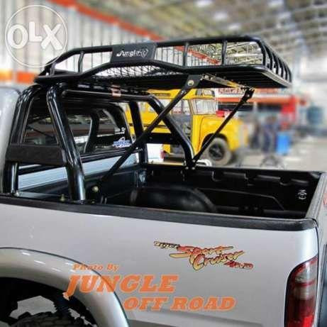 Roof Rack with Rollbar - Pesquisa Google | pickup ...