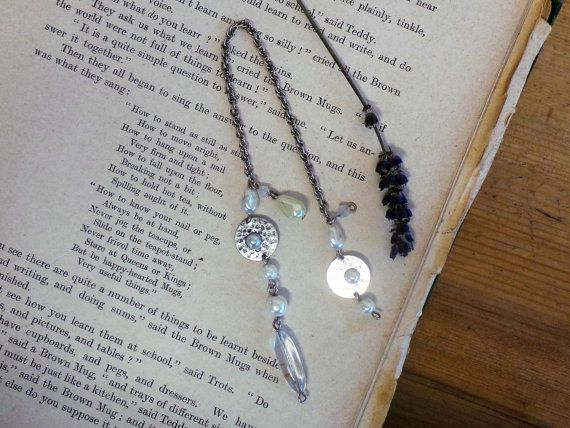 Rustic Bead Bookmark, Bookmarks, Book Mark, Bookmark, Bookmarks for Books, Gift for Book Lover, Teachers Gift, Page Marker, Literary Gift