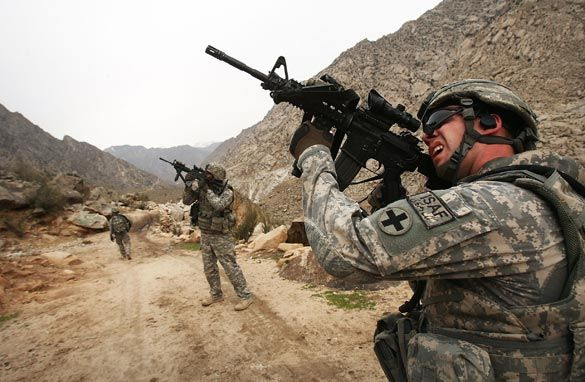 War in Afghanistan is turning to a stressful strategic dilemma for NATO member-states...
