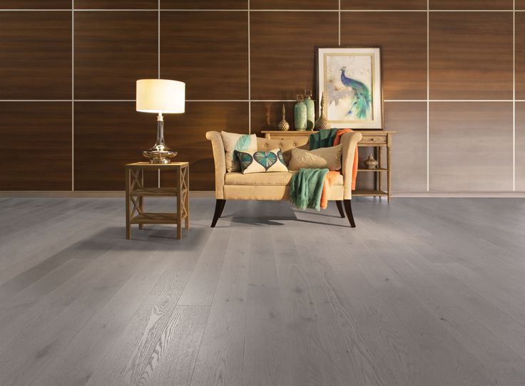 Mirage Floors, White Oak Light Character Grey Drizzle | Available At  Interiors And Textiles In
