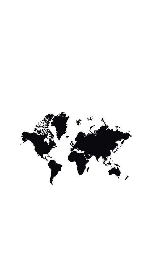 127 best Wallpapers images on Pinterest Wallpapers, Backgrounds - best of world map white background
