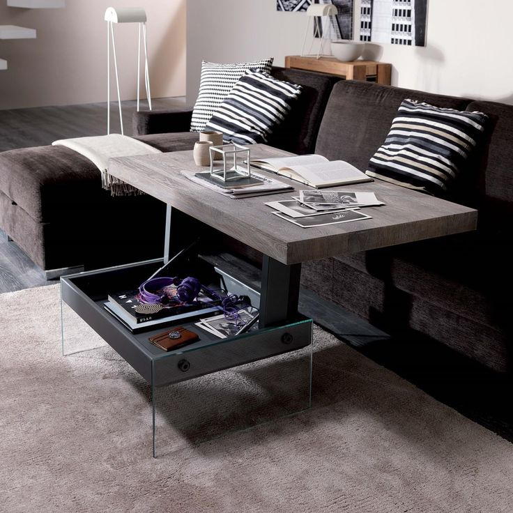 1000 ideas about convertible coffee table on pinterest for Fold out coffee table