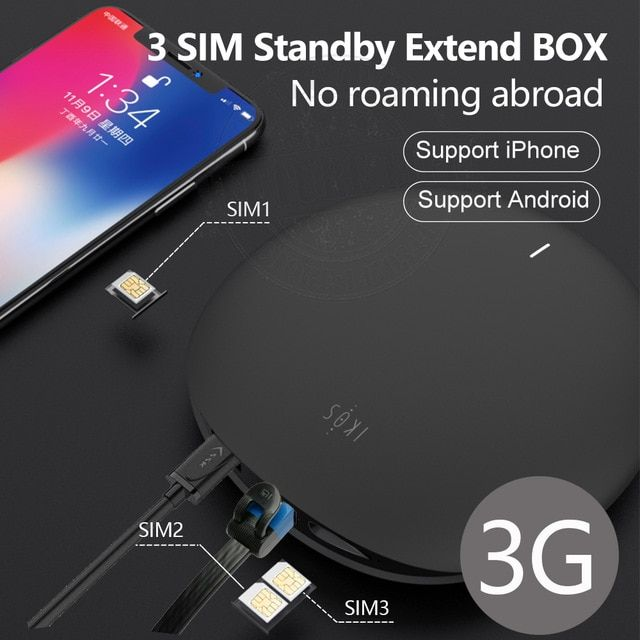 3g Version Ikos 3 Sim Standby No Roaming Abroad Simadd 3sim Activate Online Wifi Router Android For Iphone 6 7 8 X Ios 7 12 Review With Images Wifi Router Router Sims