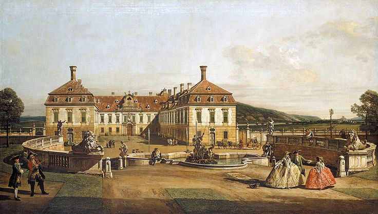 "Bellotto Bernardo - Emperor S Pleasure Palace Court Of Honour 1758 61 (from <a href=""http://www.oldpainters.org/picture.php?/45290/category/15206""></a>)"