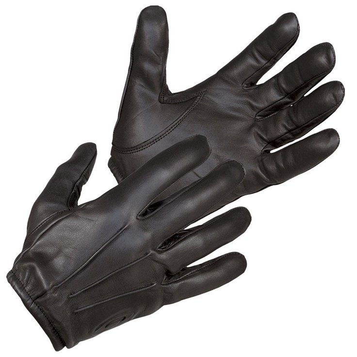 Kevlar lined riding gloves. Great wrist length, easy to pull on & off. Good amount of protection while still being stylish.