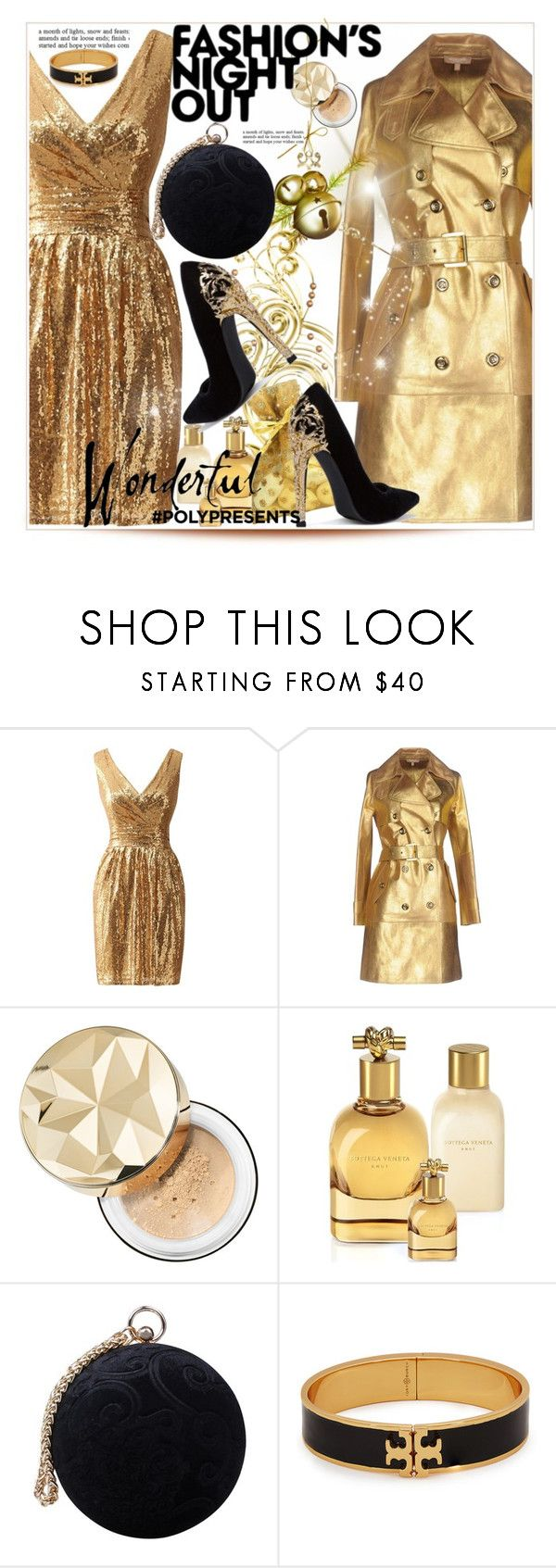 """""""#PolyPresents: Wish List"""" by selmir ❤ liked on Polyvore featuring Lara, Michael Kors, Bare Escentuals, Bottega Veneta, Carvela, Fashion's Night Out and Tory Burch"""
