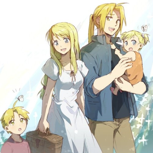 Edward and Winry Elric. | Fullmetal Alchemist | Pinterest ...