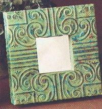 Подарки: Рамка для зеркала своими руками