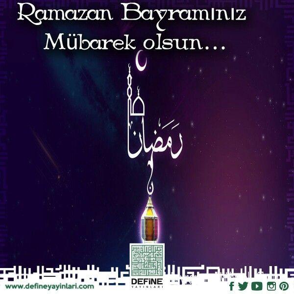 Ramazan Bayramınız Mübarek Olsun...  Hayirli Cumalar... #defineyayinlari #define #dua #pray #bayram #iyitatiller #iyibayramlar #hayirlibayramlar #bayram #ziyaret #muhabbet #cocuk #sevinç #seker #bayram #bayraminizmubarekolsun #amin #rahmet #mutluluk #bayramziyareti