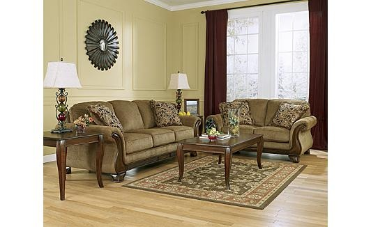 Lansbury Autumn Sofa And Love Furniture Living Room