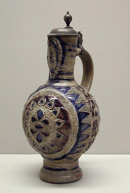 Date: 18th century Culture: German (Westerwald) (Grenzau or Grenzenhausen) Medium: Salt-glazed ston