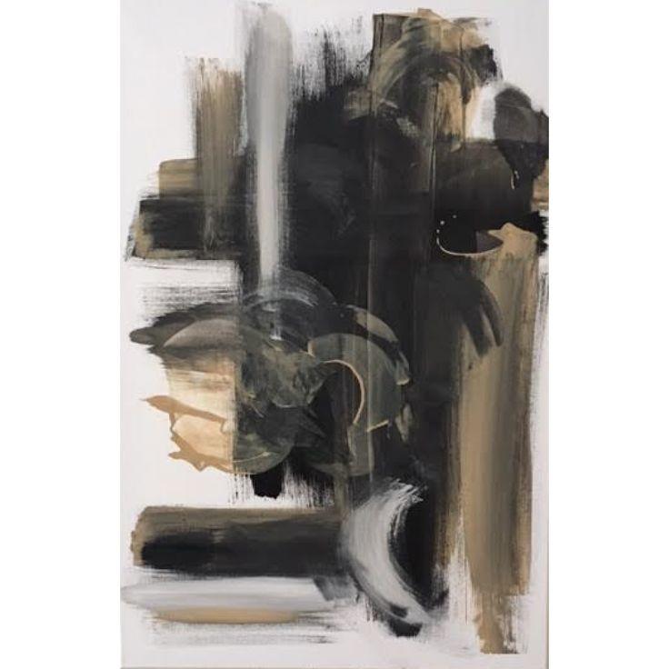 Le cadre sur toile de canevas acrylique Masque est une création québécoise de l'artiste peintre Chaby.