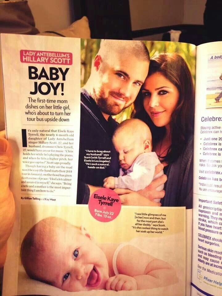 Chris Tyrrell Baby