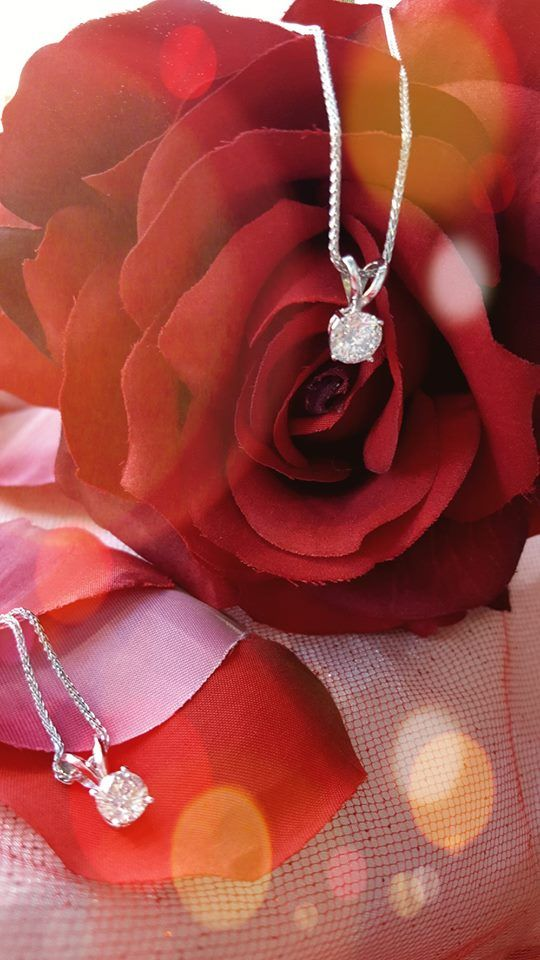 Diamond Solitaire Pendants 50% off! Only 2 left in stock .75ct. regular $3999.00 now $1999.50 / 1.00ct regular price $7999.00 now $3999.50.  . . #diamond #solitaire #sale #ValentinesDay #gift