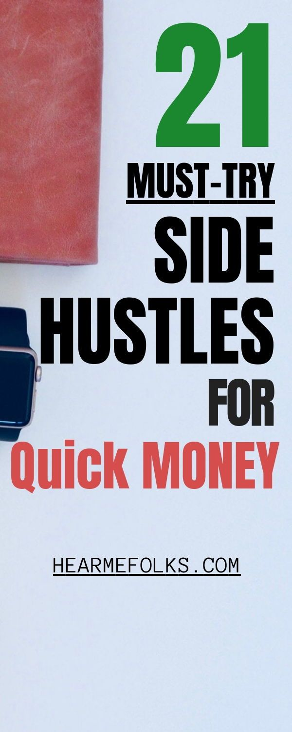 21 Smart Ways to Side Hustle and Make Extra Money Today – Way to make money