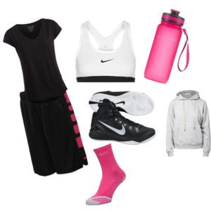 """Basketball Practice"" by fan-girl-life on Polyvore"