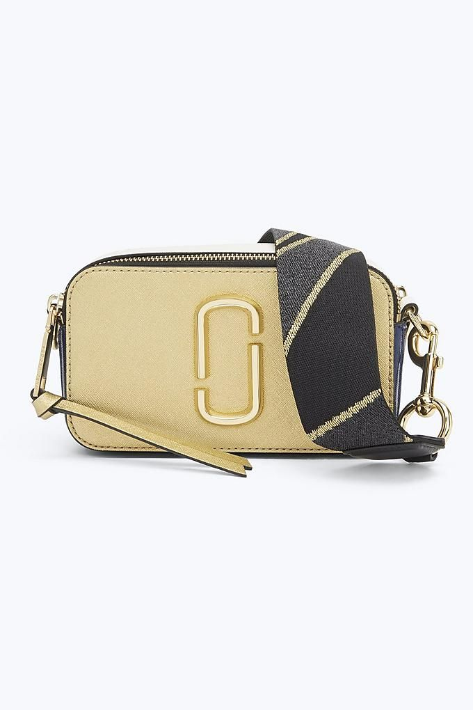 72bbeeb96eba Marc Jacobs Snapshot Small Camera Bag in Gold Multi