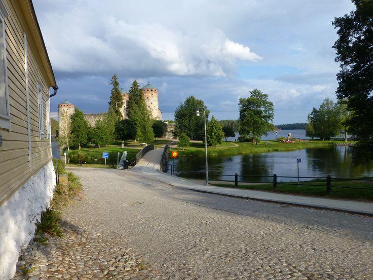 Olavinlinna Castle in Savonlinna (2014)