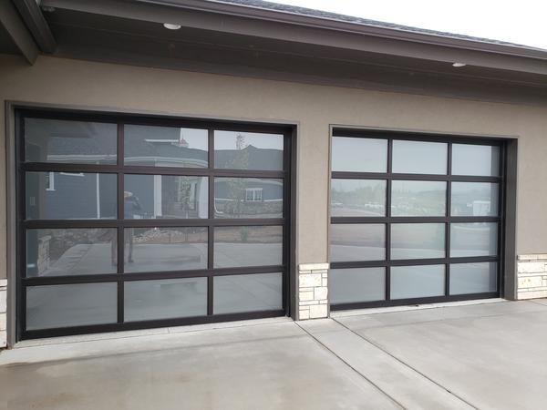 Glass Garage Door Doors, Frosted Glass Garage Doors