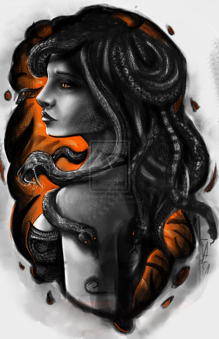 Medusa tattoo design by CodyReedTattoos on deviantART