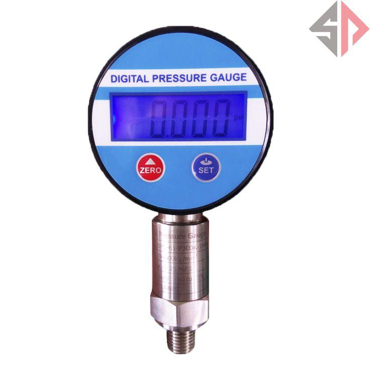 60Mpa Battery Supply Diffusion Silicon Digital Pressure Gauge
