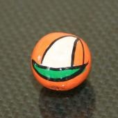Fancy Painted Wooden Beads