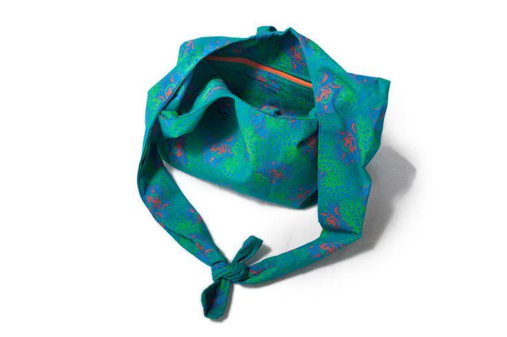 Shweshwe hobo bag, Shoulder bag, Blue flower boho bag, Boho bag by…