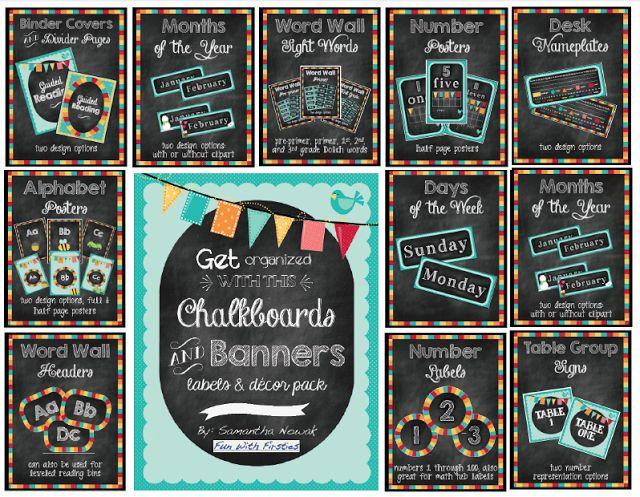 Classroom Chalkboard Ideas ~ Classroom blackboard decoration ideas pixshark