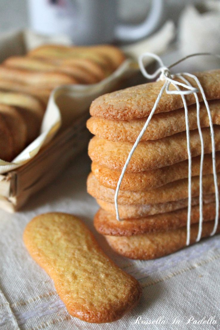 "Light eggs ""Pavesini"" biscuits. A classic Italian #biscuits #Italian-food"