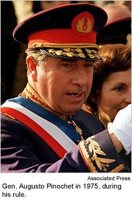 News about Augusto Pinochet. Commentary and archival information about Augusto Pinochet from The New York Times.