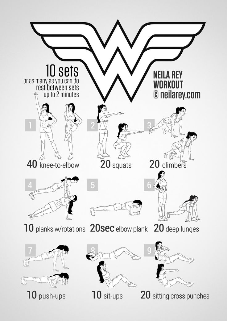 Wonder Woman Workout                                                                                                                                                                                 Plus