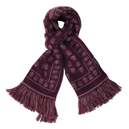 Winter Warmers at Brown Thomas Alexander McQueen Skull Wool Scarf