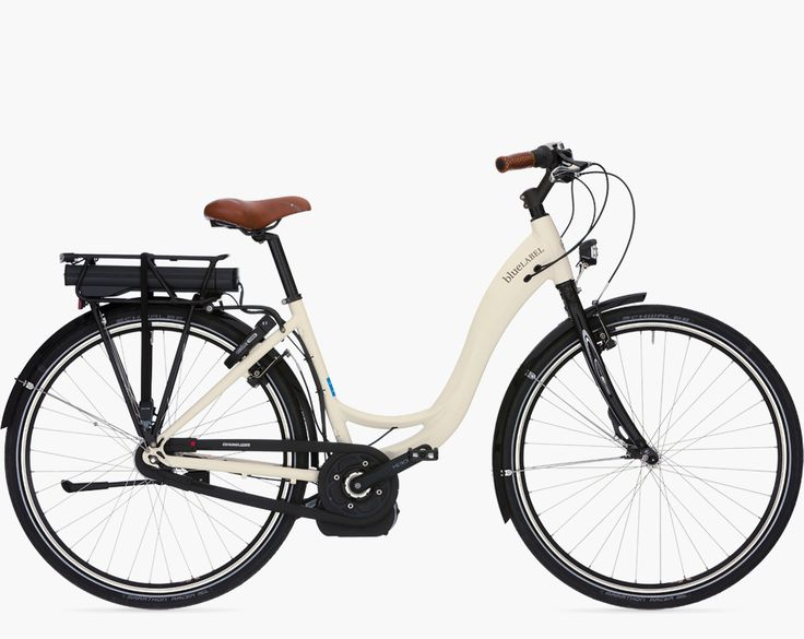 Vélo de Sylvie : blueLABEL KOMFORT hybrid light 300 Wh (Modèle 2014)