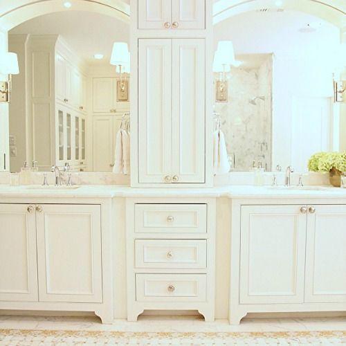 22 Best Master Bathroom Center Cabinets Images On Pinterest